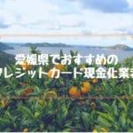 クレジットカード現金化 愛媛県